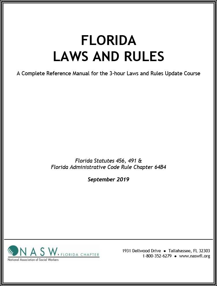 Florida Laws and Rules Manual