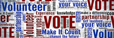 Volunteer for an election campaign