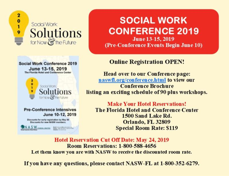 2019 Annual Conference Registration Open and Brochure Available