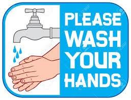 Please wash your hands sign