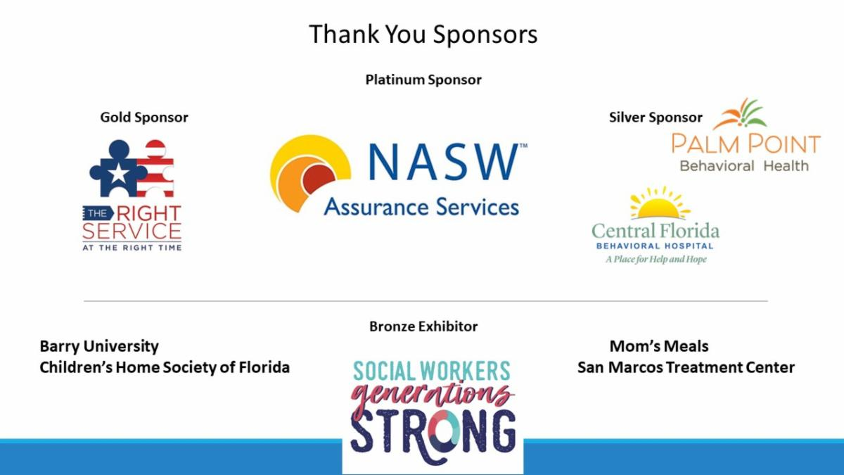 Thank You 2020 Virtual Conference Sponsors