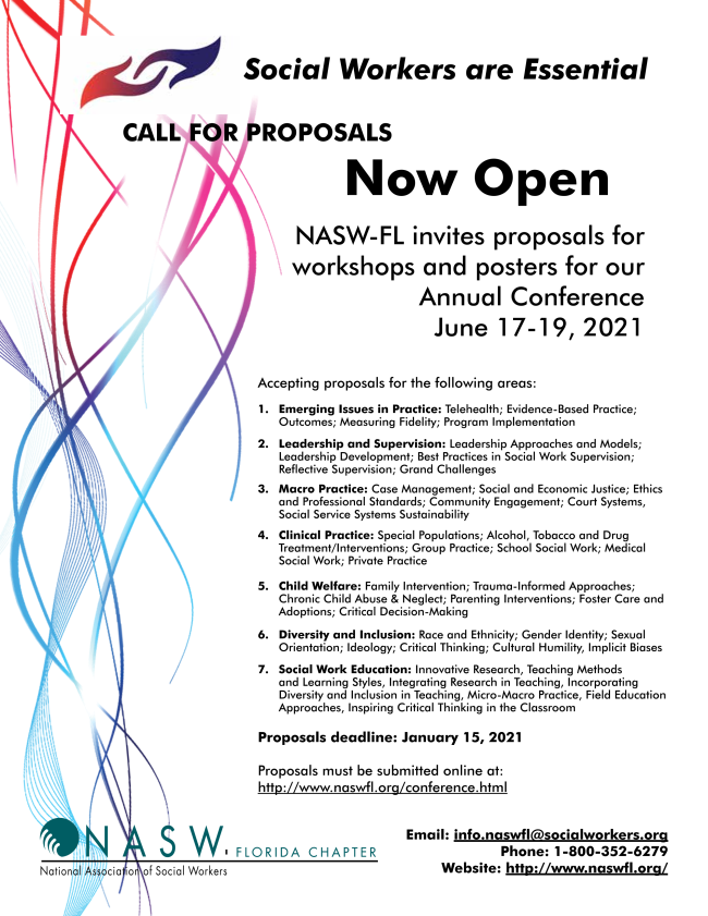 NASW-FL Annual Conference Call for Proposals