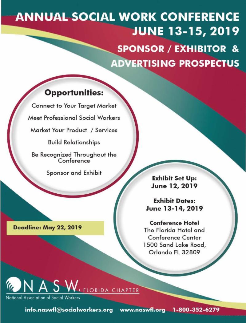 NASW-FL Sponsor_ Exhibitor and Advertiser Prospectus