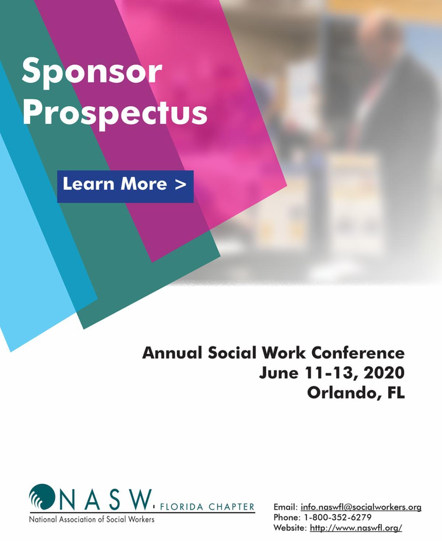 2020 Conference Sponsor Prospectus