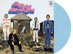 FLYING BURRITO BROTHERS GILDED PALACE OF SIN BABY BLUE VINYL