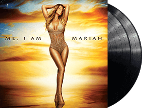 MARIAH CAREY ME. I AM MARIAH...THE ELUSIVE CHANTEUSE 2 LP