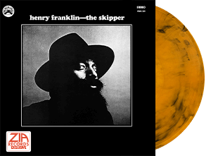 Henry Franklin The Skipper Zia Exclusive Gold Vinyl