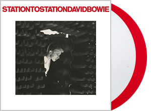 DAVID BOWIE STATION TO STATION RED AND WHITE VINYL 2016 REMASTER
