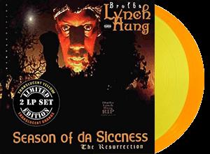 BROTHA LYNCH HUNG SEASON OF DA SICCNESS yellow and orange 2lp