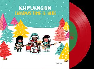 KHRUANGBIN CHRISTMAS TIME IS HERE red vinyl