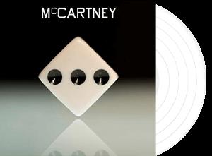 paul mccartney mcartney III indie exclusive white vinyl