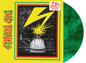 Bad Brains Zia Exclusive green with black smoke edition