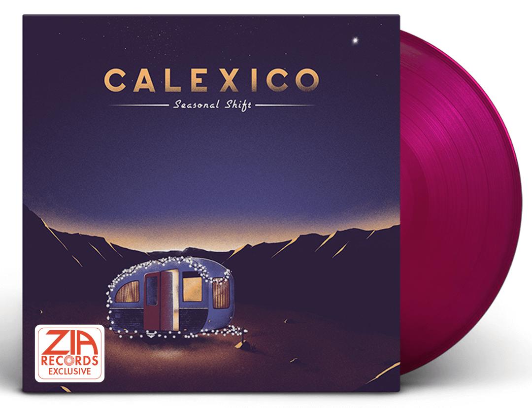 Calexico Seasonal Shifts Zia Exclusive Violet Colored Vinyl