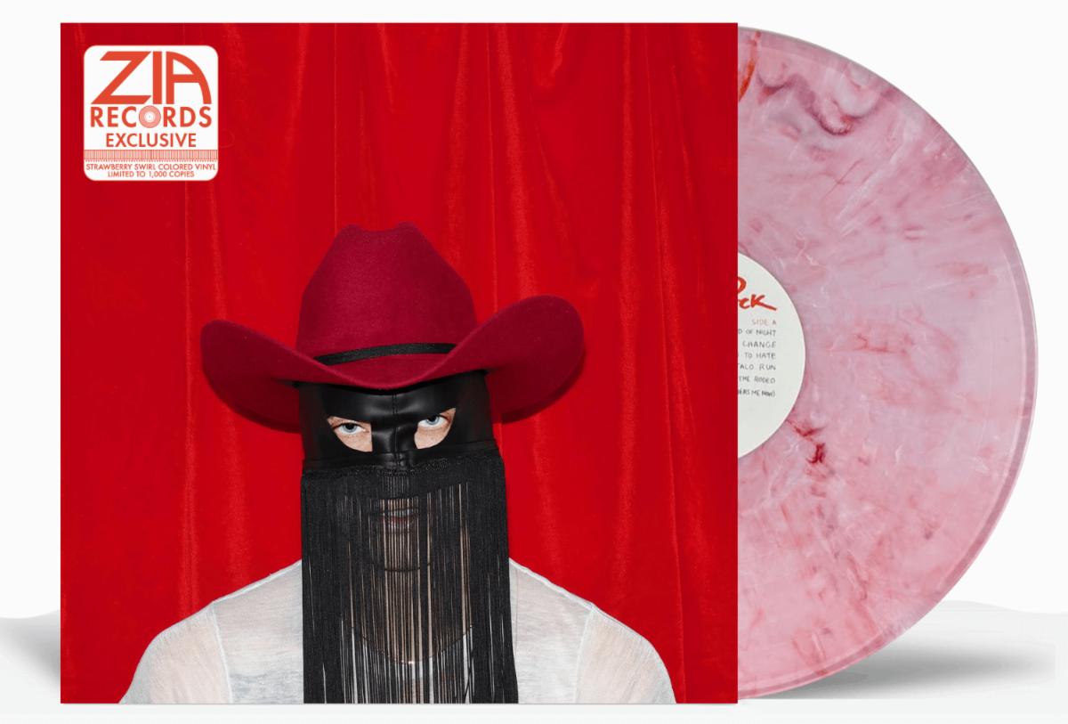 Orville Peck Pony Zia Exclusive Strawberry Swirl Vinyl