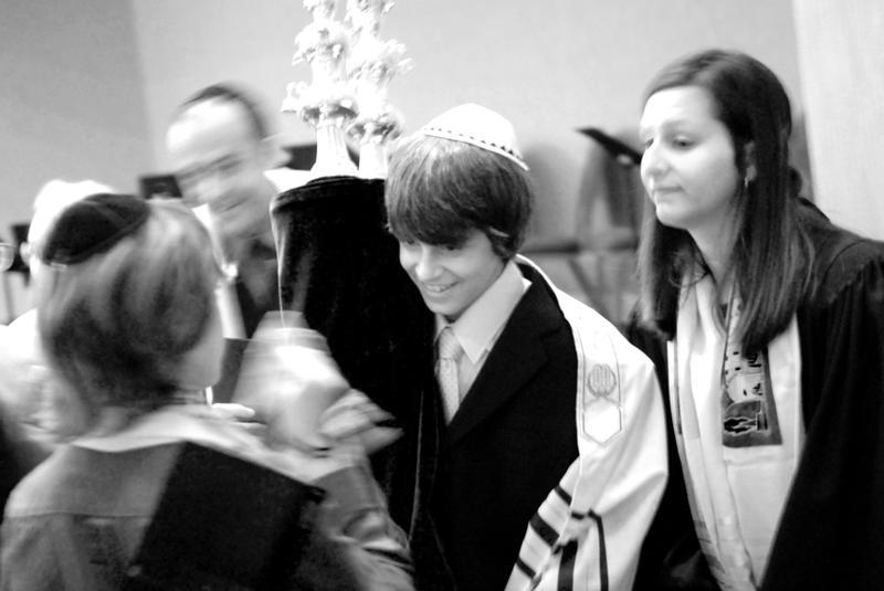 Bar Mitzvah - with Torah
