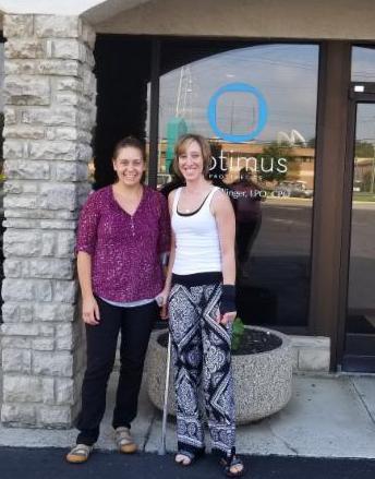 Rachel Taulbee with Megan Albury, CPO