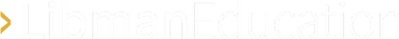 White Libman Education logo