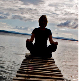 Meditation on the water