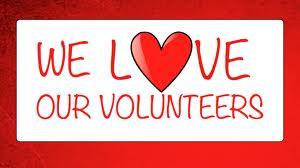 love our volunteers
