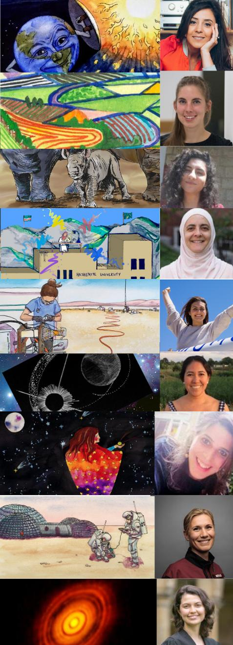 She Speaks Science Collage