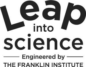 Leap in Science Logo Template