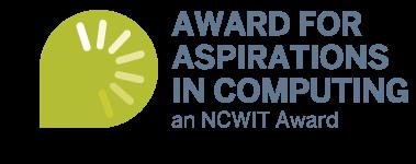 Award for Aspirations in Computing Logo