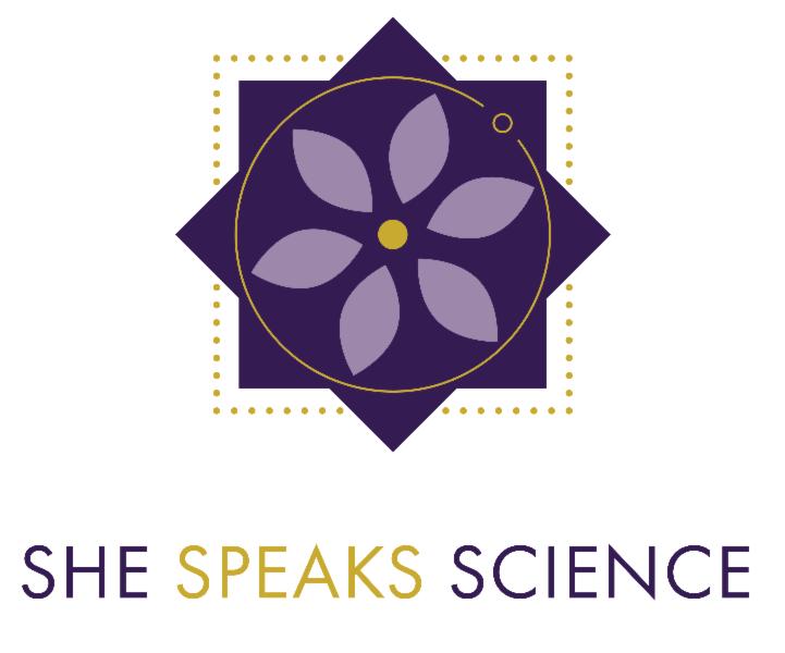 She Speaks Science Logo