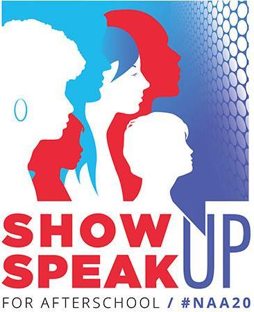 NAA 2020 Show Up Speak Up Logo