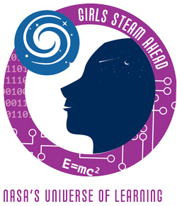 Girls STEAM Ahead Logo