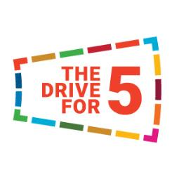 The Drive For 5 logo