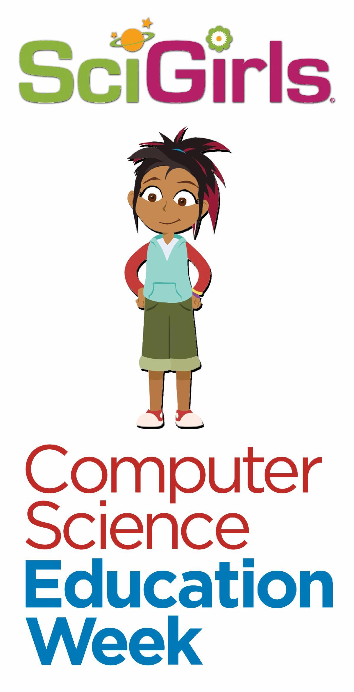 SciGirls and CSEdWeek Logos