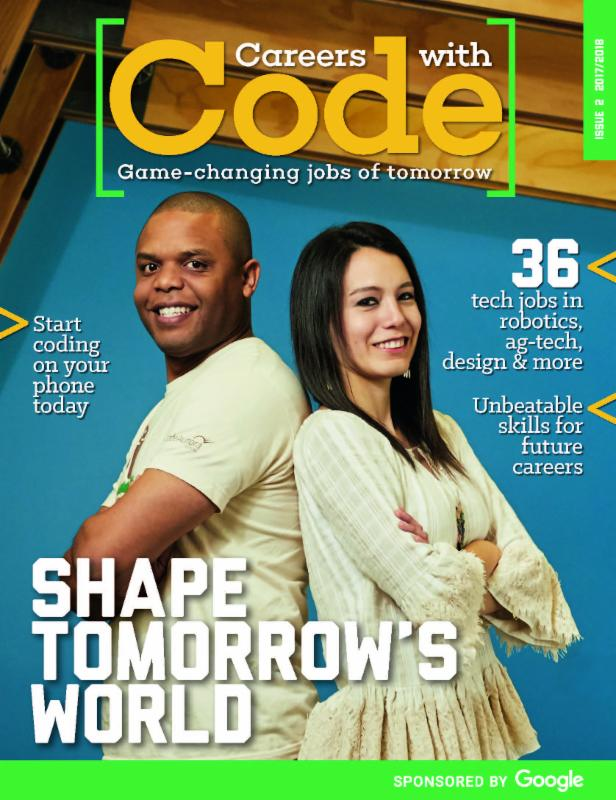 Careers With Code Magazine Cover