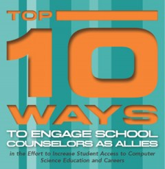 Top 10 Ways to engage school counselors as allies