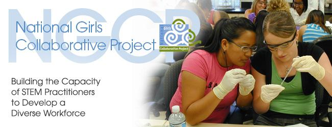 NGCP Header Girls and Science