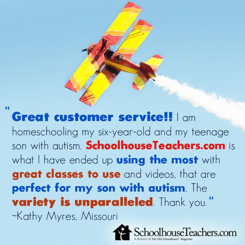 subscriber review for SchoolhouseTeachers.com