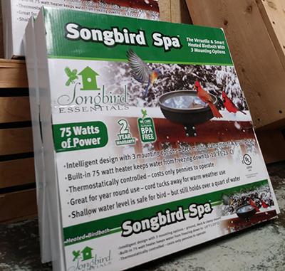 songbird spa