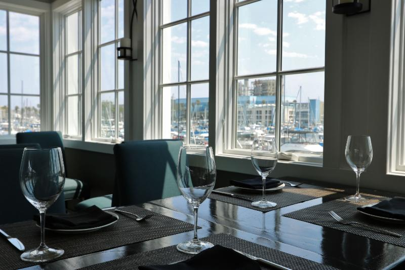 at the beginning of july our team out the final touches on the beautiful baleen kitchen restaurant and bar located on the marina of the portofino resort - Baleen Kitchen