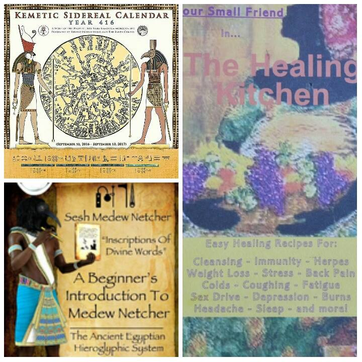 Earth's Divinity Newsletter: Infinitum - Happy Kemetic New Year!