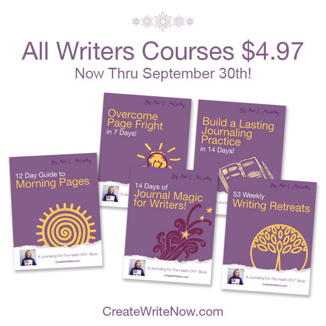 Courses for Writers sale