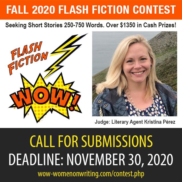 Fall 2020 Flash Fiction Contest with literary agent Kristina Perez
