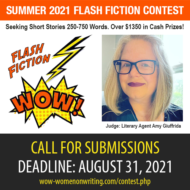 Summer Flash Fiction Contest with Literary Agent Amy Giuffrida