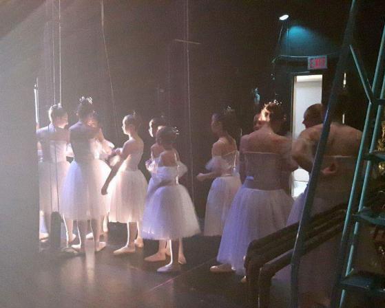 Snow backstage 2016