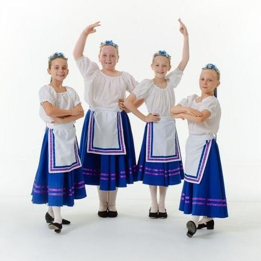 National Dance 1-2 students in June 2019