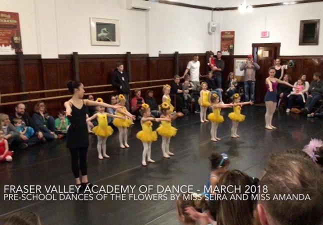 Pre-School Dances Mar 2018