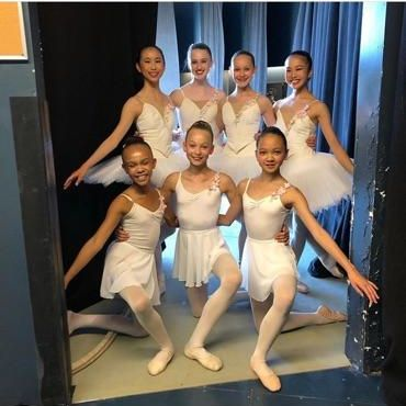 FVAD students performed at RWB's Ballet in the Park 2019
