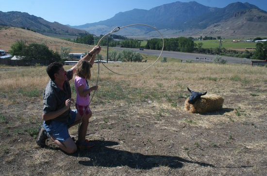 Roping Lesson