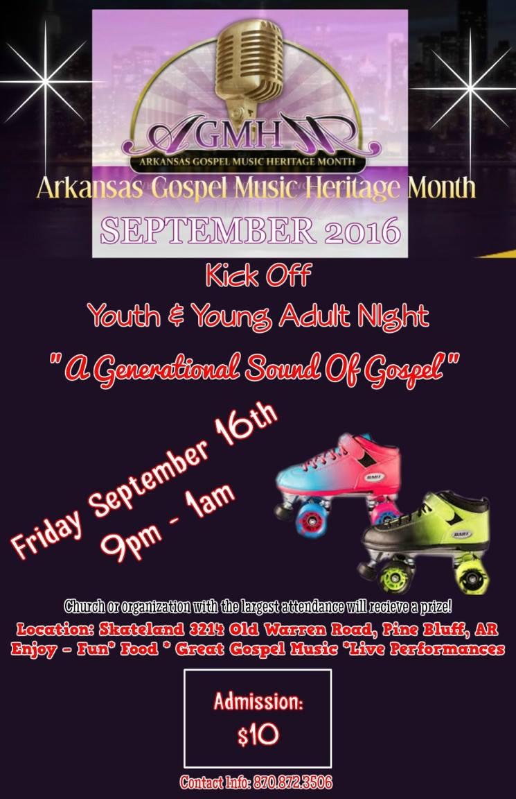 MAKE SOME NOISE: September is Arkansas Gospel Music Heritage