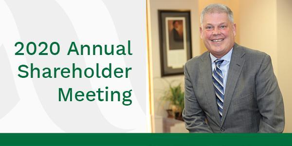 2020 Annual Shareholder Meeting