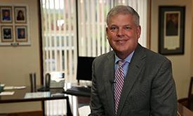Greg Evans CEO smiling