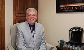 Greg Evans. CEO